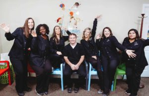 Claxton Smiles Youth Dentistry Team Photo